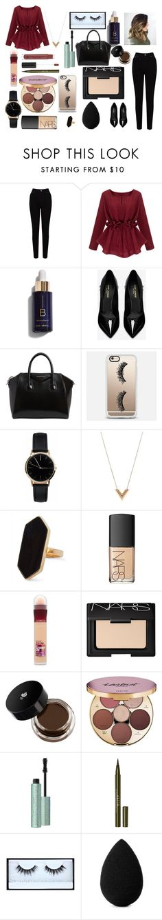 """Sin título #64"" by aliciadelgado on Polyvore featuring EAST, Yves Saint Laurent, Givenchy, Casetify, Freedom To Exist, Louis Vuitton, Jaeger, NARS Cosmetics, Maybelline y tarte"
