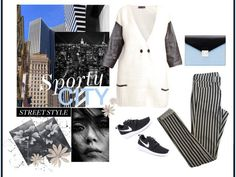 sPORTY in the CITY!! Muôtti cardigan here: http://bit.ly/1p5yzPN