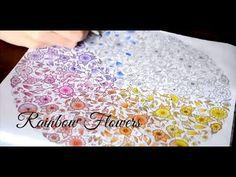 Secret Garden   Rainbow flowers   Jardim Secreto - YouTube