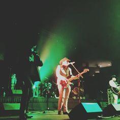 Gerardo Ortiz & La Arrolladora Banda Limon performed on Saturday at Mid-America Center