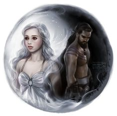 Game of Thrones: Khaleesi and Khal by daekazu.deviantart.com on @deviantART