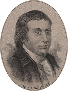 Josiah Bartlett (1729-1795) He served in Congress as a delegate and signer of the Declaration of Independence from NH until 1779 and then refused reelection because of fatigue.  On the state level he served as the first Chief Justice of Common Pleas (1779-1782), Associate (1782-1788) and Chief justice of the Superior Court (1788-1790).  Bartlett founded the New Hampshire Medical Society in 1791 and was the Governor of New Hampshire (1793-1794).