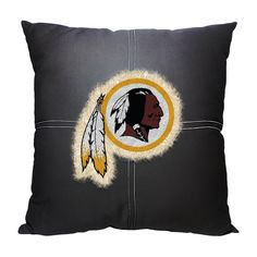 Washington Redskins NFL Team Letterman Pillow (18x18)