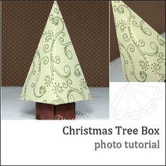 Danielle Daws: Christmas Tree Box Tutorial