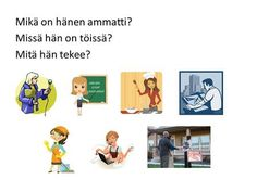 Mikä on hänen ammatti? Missä hän on töissä? Family Guy, Language, Teaching, Guys, Fictional Characters, Learning, Boyfriends, Education, Language Arts