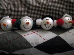 Homemade ornaments @Naomi Usui