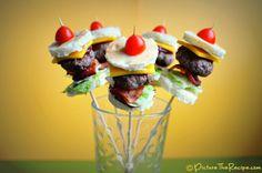 12 Amazing Super Bowl Recipes (Mini Burger Bites)