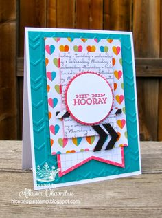 nice people STAMP!: Project Life by Stampin' Up! Everyday Adventure Card