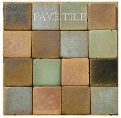 Great family of color South Beach 1930 Outdoor Living European Terra Cotta Tile Collection Engineered Oak Flooring, Decorative Wall Tiles, Terracotta Floor, Delft Tiles, Wood Stone, Hallway Decorating, Colour Schemes, Earth Tones, South Beach