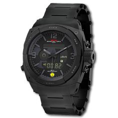 MTM Black RAD Tactical Watch For Radiation Detection