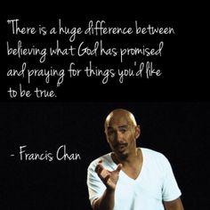Francis Chan on Prayer hmmm...
