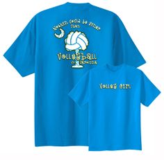 $12.95 Volleyball in Carolina T-shirt featuring the beautiful Palmetto tree and moon
