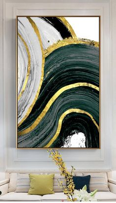 Abstract black and golden printable Wall Art Decor Home Decoration Music Players Gallery, instant do Gold Leaf Art, Gold Art, Abstract Wall Art, Canvas Wall Art, Abstract Digital Art, Modern Artwork, Modern Art Paintings, Leaf Paintings, Home Decor Paintings