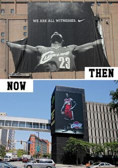 Then and now: Cleveland fans react to LeBron James' exit and return