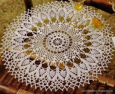 Free Vintage Crochet Doily Patterns | Crochet Round Doilies - Crochet Lace - Free Pattern