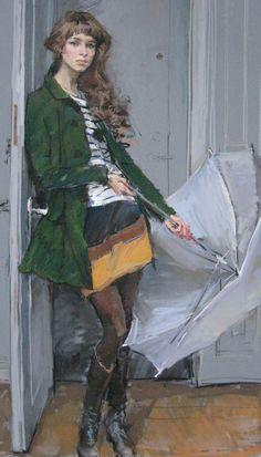pastel - Valeriy Gridnev (Russian, b. 1955)