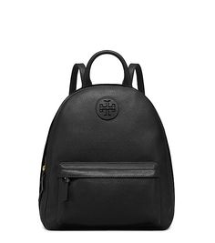 Simply sportif-chic: The Leather Backpack is a classic silhouette featuring our iconic double-T logo. Detailed with adjustable straps and a top handle, it's easy, practical and polished —