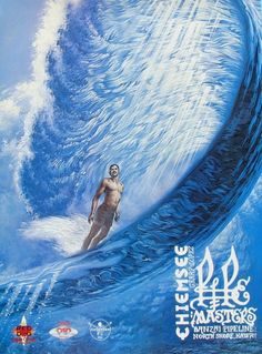 This is an original Phil Roberts Art poster print from the 1995 Triple Crown of surfing contest held on Oahu, Hawaiis Famous North Shore Sunset Surf, Hawaii Surf, Oahu Beaches, Soul Surfer, Surf Posters, Poster Prints, Tan Lines, North Shore, Surfboard