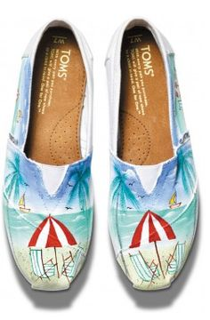 Beautiful handpainted TOMS #mothersdaygifts http://rstyle.me/~1XFyH