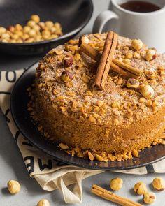 Cookie Desserts, No Bake Desserts, Dessert Recipes, Egg Recipes For Dinner, Holiday Recipes, Chef Recipes, Baking Recipes, Coffee Cake, Bakery