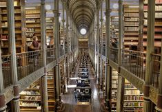 I want to go to there. (The University Library at the University of Copenhagen in Denmark)