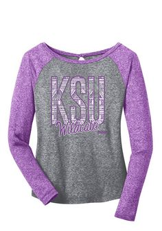 K-State Wildcats Womens Long Sleeve Scoop Neck Tee http://www.rallyhouse.com/k-state-womens-purple-ellie-long-sleeve-scoop-neck-16650122?utm_source=pinterest&utm_medium=social&utm_campaign=Pinterest-KSUWildcats $46.99