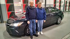 Congratulations to Mr & Mrs Spicer on their new 2015 Toyota Camry!  www.carvertoyota.com