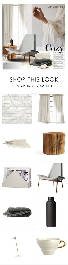 """Close to my heart"" by laste-co ❤ liked on Polyvore featuring interior, interiors, interior design, home, home decor, interior decorating, Pottery Barn, Skagerak, Modloft and T2"