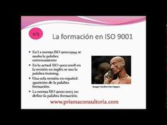 E40 ISO 10015 Formación, Qué es y como implementarla. Prisma Consultoria