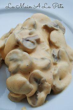 Dos de cabillaud sauce moutarde et paprikaLa main à la pâte