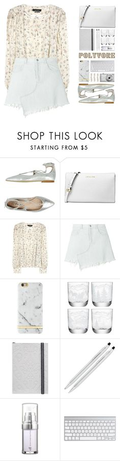 """""""""""60-Second Style: Asymmetric Skirts"""" - Contest"""" by lyraee ❤ liked on Polyvore featuring George J. Love, Michael Kors, Isabel Marant, Sandy Liang, Richmond & Finch, LSA International, Christian Lacroix, e.l.f., Nikon and Ana Khouri"""