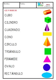 formas mayúsculas                                                                                                                                                     Más Learning Spanish For Kids, Spanish Teaching Resources, Spanish Activities, Spanish Lessons, Bilingual Classroom, Spanish Classroom, Math Formulas, Learn Portuguese, Elementary Spanish