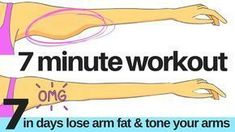 7 DAY CHALLENGE - 7 MINUTE WORKOUT TO LOSE ARM FAT & TONE YOUR ARMS - ARM EXERCISE FOR WOMEN AT HOME - YouTube