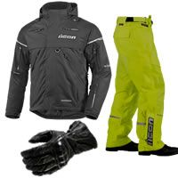 Motorcycle Rain Gear & Apparel - Weatherproof Motorcycle Jackets, Pants, Gloves and Suits.