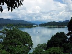 Tasik Kenyir or Kenyir Lake is an artificial lake located in the state of Terengganu in northeast Malaysia created in 1985 by the damming of the Kenyir River to create the Sultan Mahmud Power Station. It is the largest man-made lake in South East Asia.
