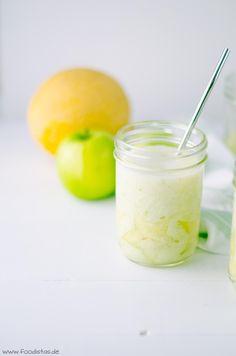 White Smoothie - Smoothie mit Apfel, Melone und Banane - von den [Foodistas]