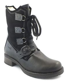 Take a look at this Black Burlington Boot by Bos. & Co. on #zulily today! $105 !!