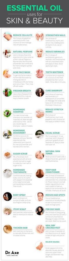 101 Essential Oil Uses and Benefits - DrAxe.com: