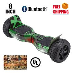 """8"""" Bluetooth Hoverboard Hover Hummer Self Balancing Electric Balance Scooter"""