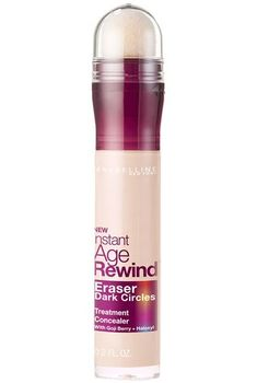 Instant Age Rewind® Eraser Dark Circles Treatment Concealer - This super-concentrated treatment concealer features a micro-corrector applicator to help instantly erase dark circles and fine lines