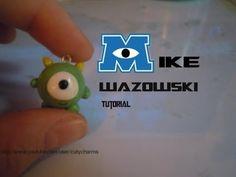 Mike Wazowski Polymer Clay Charm Tutorial