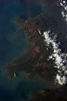 Wales vanuit de lucht