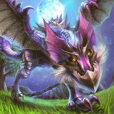 El Yian Garuga es una raza de Yian Kut-Ku con una dura concha negra y gran melena. Se conoce su astucia para esquivar trampas y su cola venenosa. ¡Es un Wyvern muy peligroso! ¡Ten cuidado!