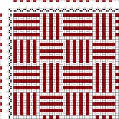 Weaving Designs, Weaving Patterns, Quilt Patterns, Knitting Patterns, Crochet Patterns, Paper Weaving, Loom Weaving, Hand Weaving, Tapestry Crochet