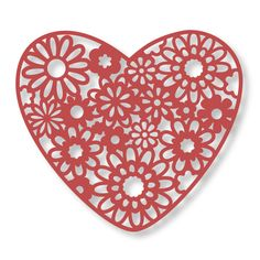 THE FLORAL LACE COLLECTION Couture Creations Floral Lace intricutz die collection is a stunning group of patterned shapes that work perfectly on cards, scrapbook pages, off the page makes and more! Valentine Day Crafts, Valentines, Artist Supplies, Vinyl Paper, Lace Heart, Couture, Die Cutting, Floral Lace, Scrapbook Pages