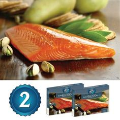Alaska Smoked Salmon - Copper River Seafoods, Inc. - 2 Pack Gift Set - Alaska Smoked Sockeye Salmon (8 oz. each) by Copper River Seafoods -- Awesome products selected by Anna Churchill