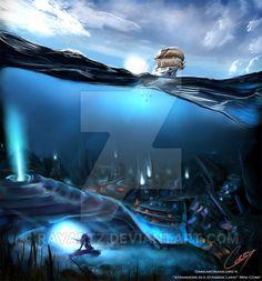 Under the sea by RayArtz