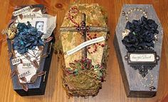 Halloween Coffin Boxes
