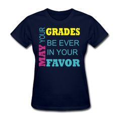 May your grades ever be in your favor - Funny Nerd Shirts - Ideas of Funny Nerd Shirts - May your grades ever be in your favor Math Shirts, School Shirts, Teacher Shirts, Funny Shirts, Classroom Humor, Teacher Humor, Teacher Quotes, Math Teacher, Future Classroom