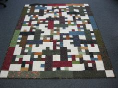 Joe & Bunny Filer of Mahomet, IL donated this quilt to Hopes & Dreams. (www.hopesanddreams.quiltersdreambatting.com)